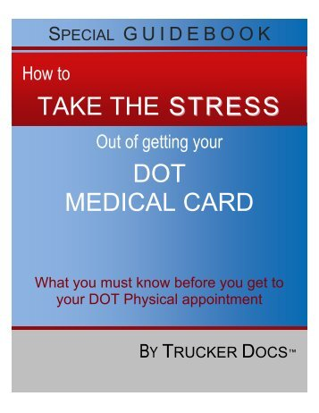 Guidebook DOT Physical V1.0 - DOT Physical Doctors