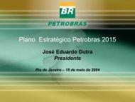 Plano Estratégico Petrobras 2015 - Cogen