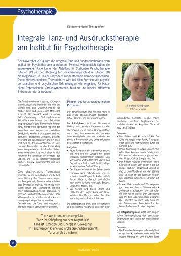 Tanztherapie-Psychiatrie - Heilmedium Christine Grillnberger ...