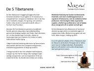Let guide til De 5 Tibetanere - Naemi