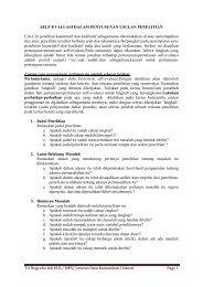 Self-Evaluasi dalam Penyusunan Proposal Peneli - S1 Ilmu ...