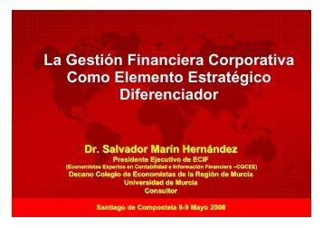 La Gestión Financiera Corporativa Como Elemento Estratégico ...