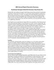 2003 Annual Report Executive Summary - HUD