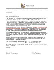 April 26, 2013 Dear Business and Craft Vendor, The Pickerington ...