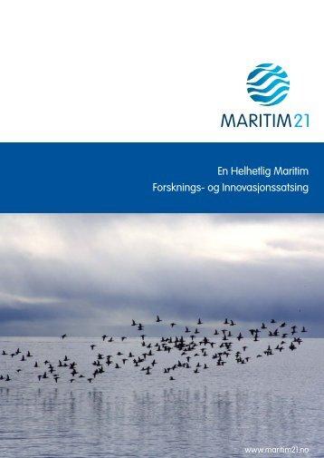 Lanseringsrapport – 2010 - Maritim21