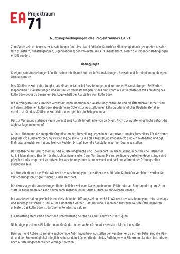 PDF Datei - c/o Kunst in und aus Mönchengladbach