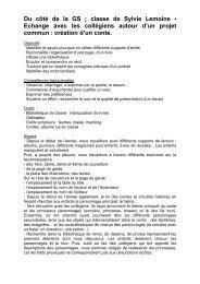 GS de l'Ecole Maternelle Joliot-Curie