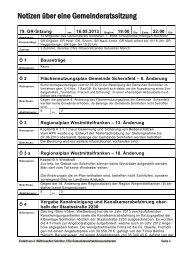 Protokoll - CSU