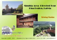 Sigulda - Turaida - Krimulda - Driving - Riga Latvia Tourist Office