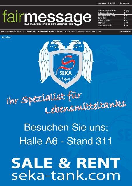 Ausgabe 10-2013   11. Jahrgang Transport ... - fairmessage.de