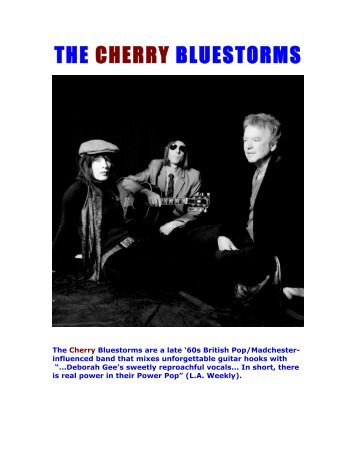 THE CHERRY BLUESTORMS