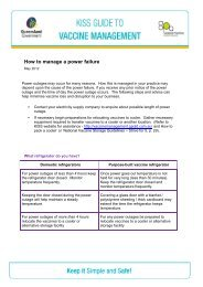 Main heading - Kiss Guide to Vaccine Management - General ...