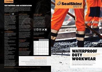 waterproof duty workwear - Fima Promotions