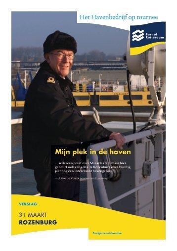 RozenbuRg - Port of Rotterdam