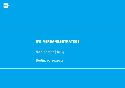 IFK VERBANDSS STRATEGE - IFK Berlin