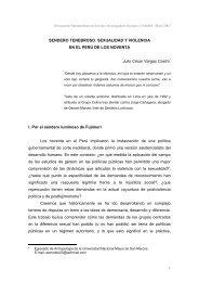 Sendero tenebroso. sexualidad y violencia en el Perú ... - Cholonautas