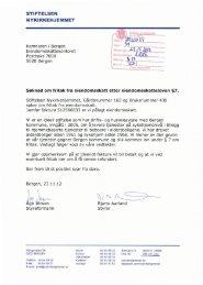Søknad om fritak fra eiendomsskatt@ gnr. 165 ... - Bergen kommune