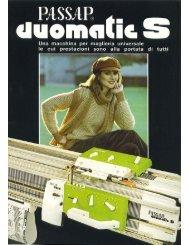 Microsoft Word - Duomatic S IT.doc