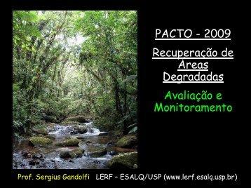 Recuperação de Áreas Degradadas Avaliação e ... - SIGAM
