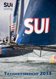 TäTigkeiTsberichT 2013 - Swiss-Sailing