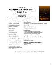 Everybody Knows What Time It Is - National Book Network