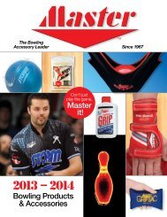 Bowling Products & Accessories Master it! - Master Industries