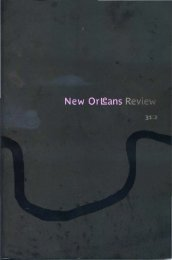 Wake - New Orleans Review