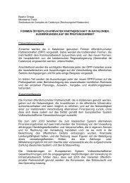 FORMEN ÖFFENTLICH-PRIVATER ... - Eurorai.org
