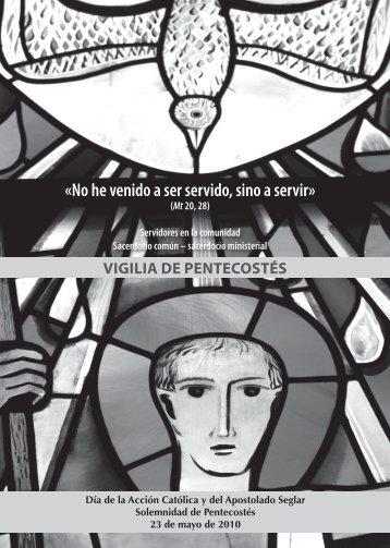 vigilia pentecostes 10.indd - Conferencia Episcopal Española