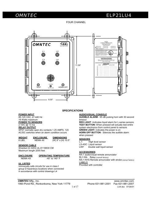 lu4 wiring diagram  u0026 dimensions