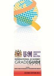 International Academic Grade Guide - Institute of Graduate Studies ...