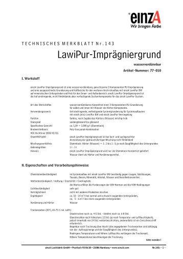 LawiPur-Imprägniergrund - einzA