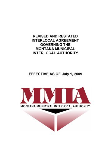 Interlocal Agreement With City Agenda