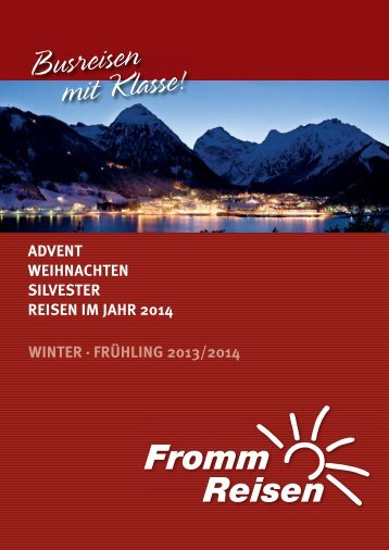 Download Katalog (PDF) - Fromm-Reisen