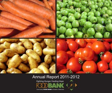 Annual Report 2011-2012 - Community Food Bank of Eastern ...