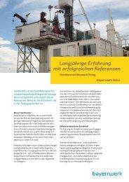 Referenzanlage Geothermie-Heizwerk Poing - e.ON Bayern