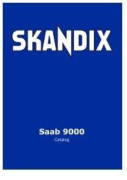 SKANDIX Catalog: Saab 9000