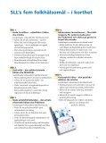 Många vägar till bättre folkhälsa - Page 5