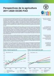 Perspectivas de la agricultura OCDE-FAO 2011-2020