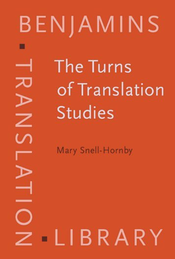 The Turns of Translation Studies: New paradigms or shifting ...