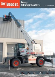 Rotary Telescopic Handlers - Bobcat CZ, a.s.