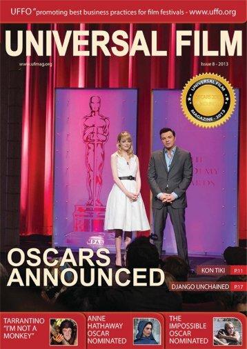 Universal Film Magazine - Issue 8 - www.ufmag.biz