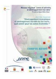 Voir le document - Agence régionale pour l'environnement (ARPE)