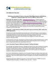 Press Release - HIMSS release FINAL 2-14-12.pdf - Stoltenberg ...
