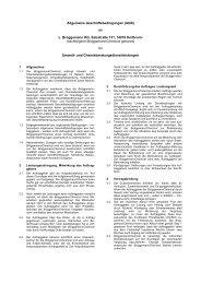 AGB Umwelt- und Chemieberatungs- dienstleistungen