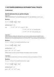 Spektrofotometria ja spektroskopia