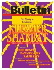 June Bulletin 2013.indd - Temple Beth El