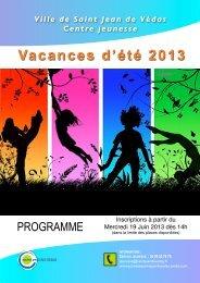 Programme Été 2013.pdf - Saint-Jean-de-Védas