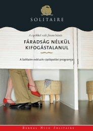 A Solitaire exkluzív cipőápolási programja - MiniMaxi Cipő