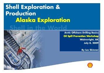 Shell Exploration & Production Alaska Exploration